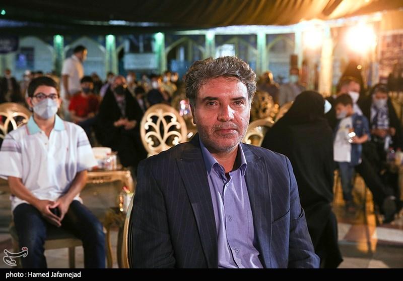 مسعود اطیابی کارگردان و داور بخش داستانی جشنواره بزرگ صالح