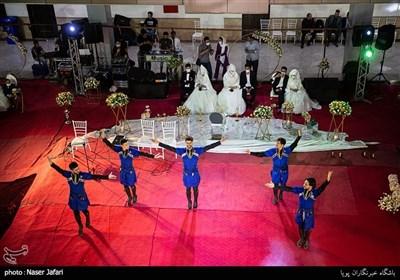 مراسم جشن ازدواج 21 زوج در عید غدیر