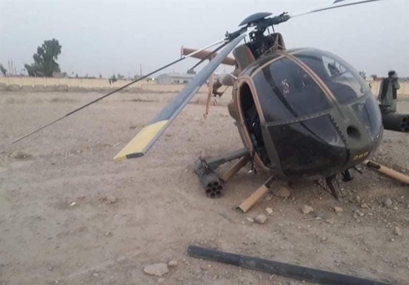 فرود اضطراری بالگرد ارتش در جنوب افغانستان