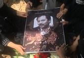 پیکر محمد سرور رجایی در «بهشت زهرا» به خاک سپرده شد + فیلم