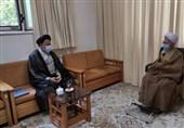 وزیر اطلاعات با آیتالله جوادی آملی دیدار کرد