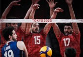 Tokyo 2020: Iran Volleyball on Verge of Knocking Out