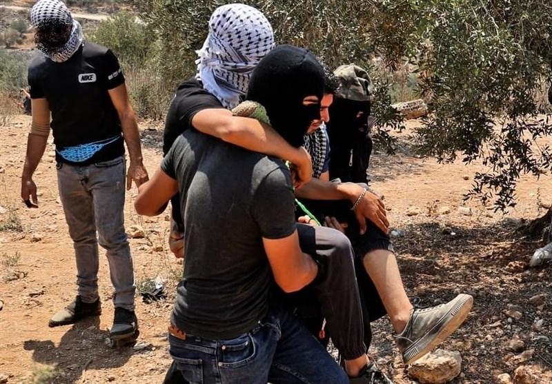 درگیری نظامیان صهیونیست با فلسطینیان در نابلس/ زخمی شدن 200 فلسطینی