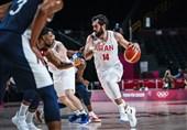 المپیک 2020 توکیو| نیکخواه بهرامی: دیدار با فرانسه احتمالاً آخرین بازی من برای تیم ملی بسکتبال بود/ مقابل آمریکا در حد تیم ملی کار نکردیم