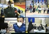7 مرکز تجمیعی واکسیناسیون توسط سپاه پاسداران در استان لرستان راهاندازی شد + فیلم