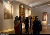 """نمایشگاه """"باغ جست"""" و کارگاه نقاشی قلمکاری در اصفهان به روایت تصویر"""