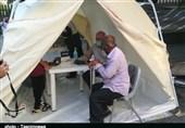 بسیج پزشکی خدمات بهداشتی- درمانی به شهروندان خرمآبادی ارائه داد+ تصویر
