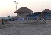 لیگ برتر فوتبال ساحلی|صنعت فرش حداد اصفهان مقابل پاس گناوه به پیروزی رسید
