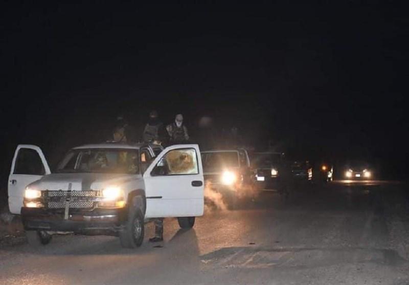 الحشد الشعبی عراق حمله عناصر تروریستی را دفع کرد