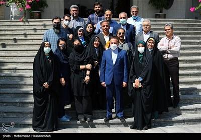محمود واعظی در حاشیه آخرین نشست هیئت دولت دوازدهم