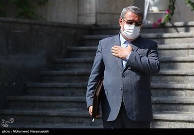 عبدالرضا رحمانی فضلی در حاشیه آخرین نشست هیئت دولت دوازدهم