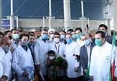 المپیک 2020 توکیو| فروغی با لباس پرستاری وارد تهران شد
