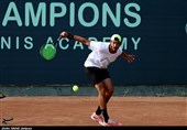 فینال مسابقات قهرمانی بینالمللی تنیس آیتیاف جونیورز در اصفهان به روایت تصویر