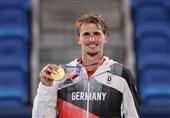 المپیک 2020 توکیو  مدال طلای تنیس المپیک به زوِرف رسید
