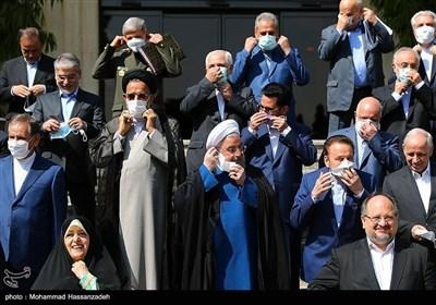 الاجتماع الأخیر لمجلس الوزراء فی حکومة روحانی