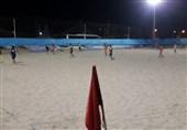 تیم دریانوردان بوشهر در لیگ برتر فوتبال ساحلی شهرداری بندرعباس را شکست داد