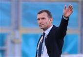 پایان دوران سرمربیگری شوچنکو در تیم ملی فوتبال اوکراین