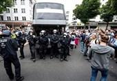 بازداشت 500 معترض توسط پلیس آلمان