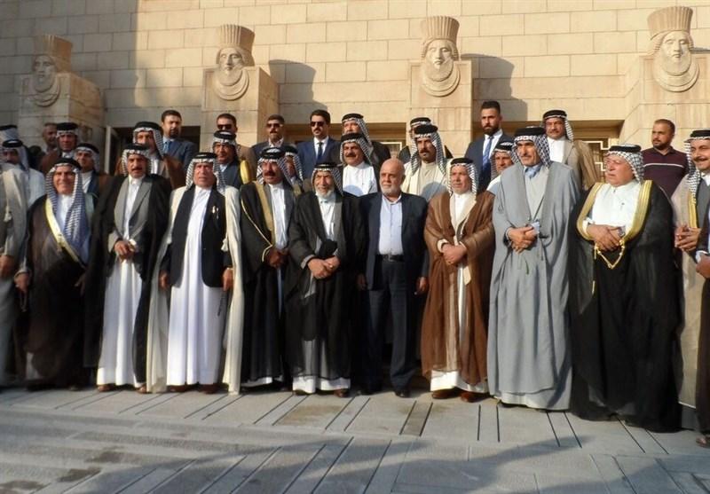 رؤساء العشائر العراقیة یطلبون لقاء قائد الثورة الاسلامیة
