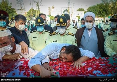 تشییع پیکر شهید عبدالجبار مختومنژاد