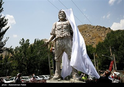 آئین رونمایی از تندیس محمود اجل پدر کوهنوردی کلاسیک ایران