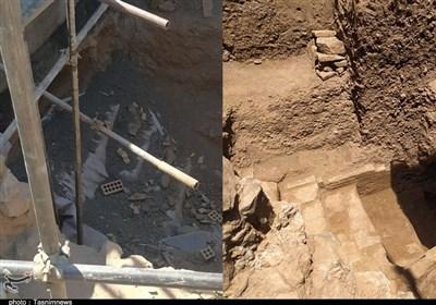 ساختوساز شهرداری در محوطه شهر تاریخی ری/ نیرو و امکانات اندک برای حفاظت و حراست از میراث باستانی + فیلم