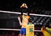 المپیک 2020 توکیو| برزیل به نیمه نهایی والیبال رسید/ میزبان حذف شد