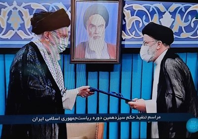 Ayatollah Khamenei Endorses Iran's New President Raeisi
