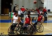 دیدار دوستانه تیم ملی بسکتبال با ویلچر ایران و تیم منتخب اصفهان به روایت تصویر