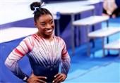 المپیک 2020 توکیو| سیمون بایلز مدال برنز گرفت