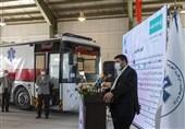 نخستین اتوبوس ـ آمبولانس ساخت ایران رونمایی شد