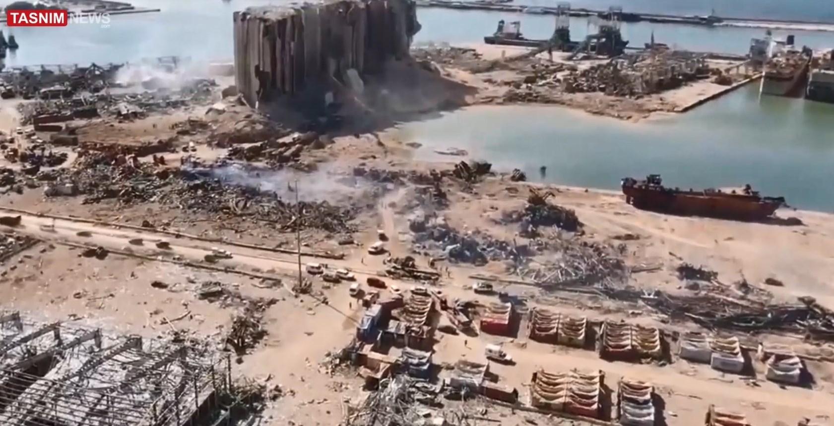 انفجار بندر بیروت ,