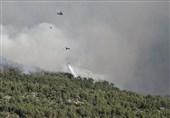 کمک 6 کشور از جمله ایران با هواپیمای آتش نشان برای مهار حریق ترکیه