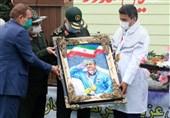 مراسم تجلیل از جواد فروغی قهرمان المپیک با حضور سرلشکر سلامی برگزار شد