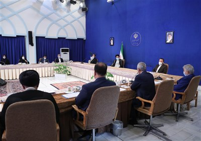 جلسه هیئت دولت به ریاست آیت الله رئیسی برگزار شد + عکس