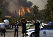شعلههای آتش همچنان در جنوب اروپا جولان میدهد