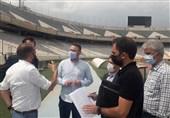 بازدید نماینده AFC از ورزشگاه آزادی