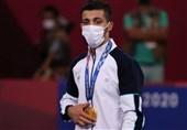 سازمان بسیج ورزشکاران مدالهای گرایی و داودی را تبریک گفت