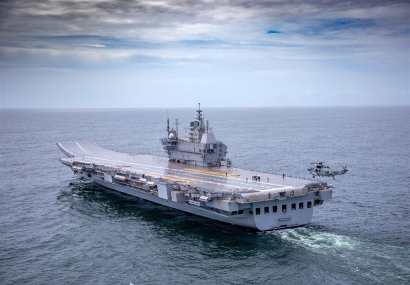 India Launches 1st Indigenous Aircraft Carrier for Sea Trials (+Video)