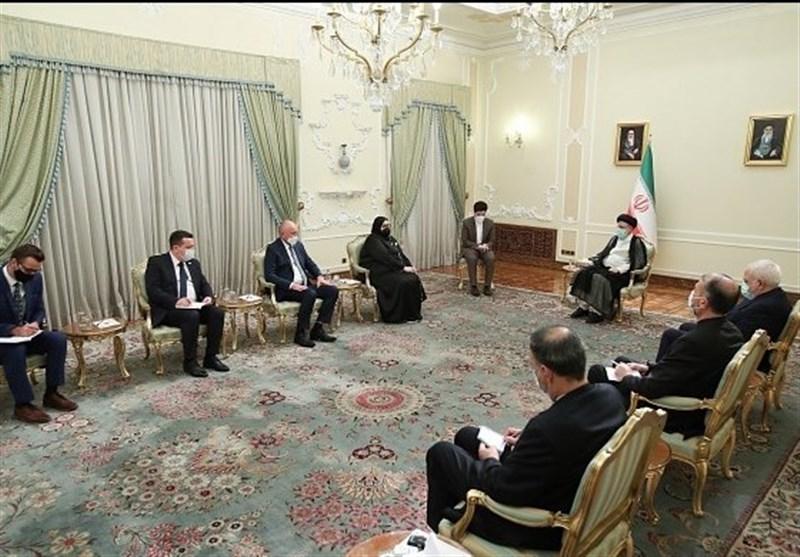 آیة الله رئیسی : ایران ترید الامن والاستقرار للجمیع