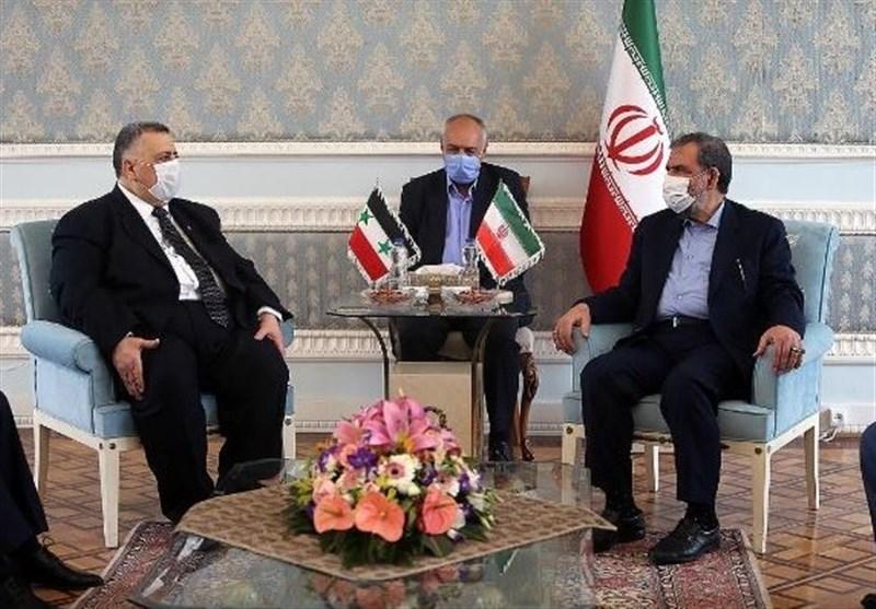 رئیس مجلس الشعب السوری یؤکد على عمق العلاقات الاستراتیجیة بین طهران ودمشق