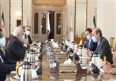 دیدار ظریف و معاون سرویس اقدام خارجی اتحادیه اروپا