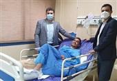 هادیپور پای راست خود را به تیغ جراحی سپرد