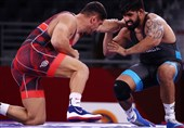 المپیک 2020 توکیو| شکست قهرمان المپیک 2016 مقابل کشتیگیر آمریکایی؛ طاها آکگول به فینال دوم نرسید