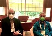 المپیک 2020 توکیو  دیدار علینژاد با نایب رئیس کمیته بینالمللی المپیک