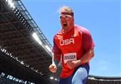 المپیک 2020 توکیو  رکورد پرتاب وزنه المپیک شکسته شد