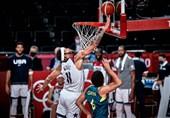 المپیک 2020 توکیو| آمریکا به فینال بسکتبال رسید + عکس