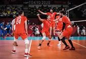 المپیک 2020 توکیو| تیم ملی والیبال روسیه فینالیست شد + عکس