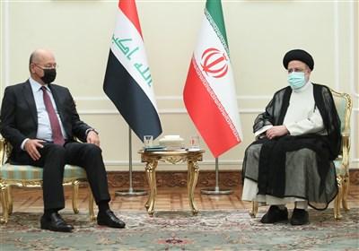 رئیسی: ایران خواهان عراقی قوی و مقتدر است/ برهم صالح: ایران همواره یار روزهای سخت عراق است