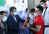 المپیک توکیو 2020  تیمهای ملی کشتی فرنگی و وزنهبرداری وارد تهران شدند